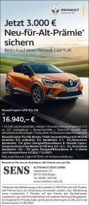 3.000€ Neu-für-Alt-Prämie