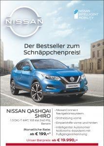 NISSAN QASHQAI SHIRO – Bestseller zum Schnäppchenpreis