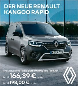 Read more about the article Der neue RENAULT KANGOO RAPID